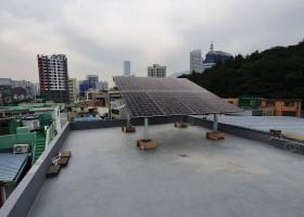 범일동 주택용 태양광 3kw 시공 ( 한화 3…